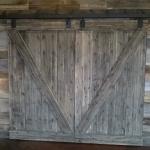 Cargo Plank Siding and Sliding Doors