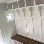 Cargo Plank Entry Bench