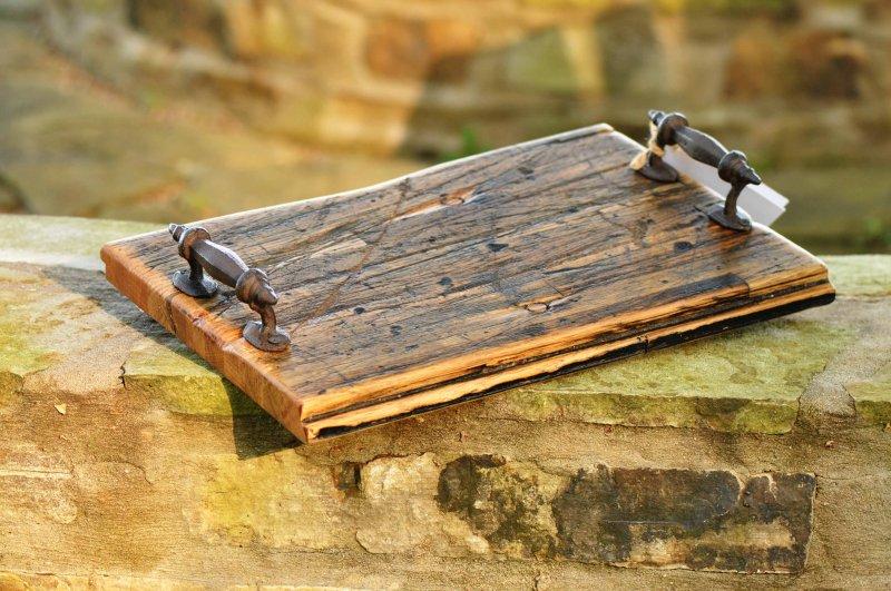 Reclaimed Cargo Wood Trays