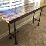 Cargo Plank Sofa Table