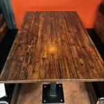 Cargo Plank Wood Table
