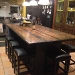 Cargo Plank Kitchen Island