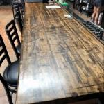 Railcar Plank Bar